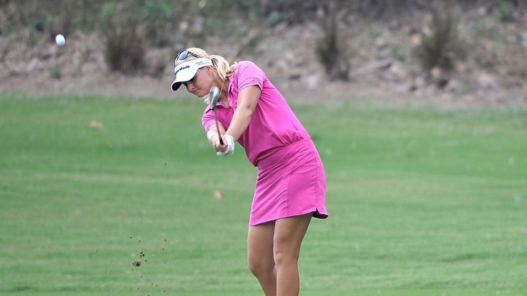 Anna Nordqvist has a handy advantage in Thailand