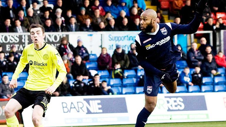 Yoann Arquin gives Ross County the lead against St Mirren