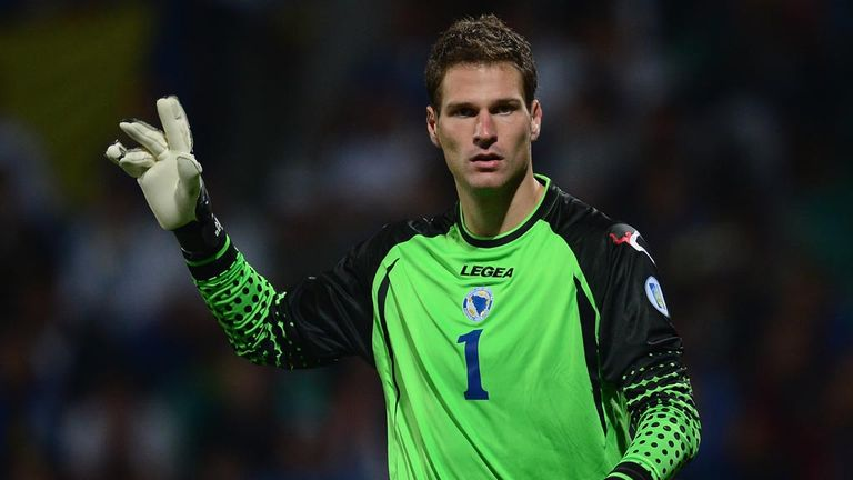 Asmir Begovic: Stoke goalkeeper content at Britannia
