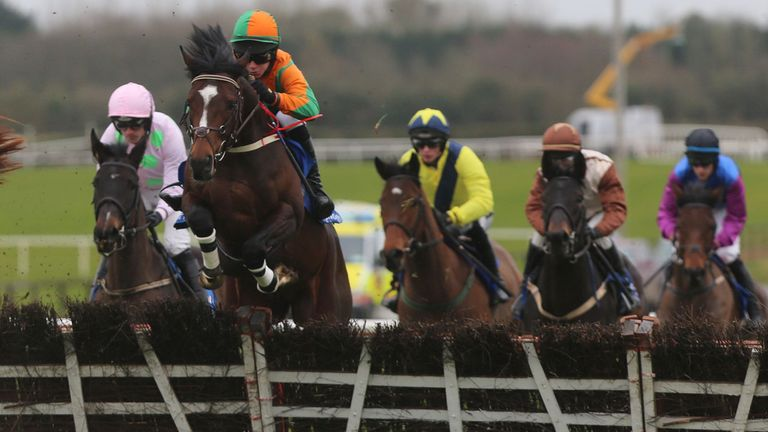 Gerdago (r): Set to run at Cheltenham