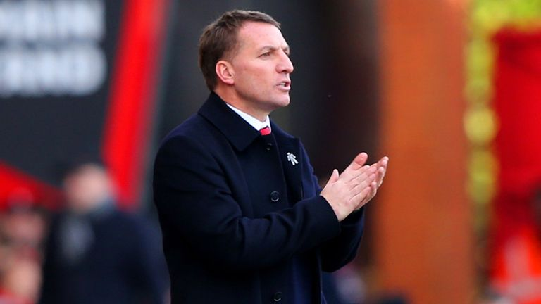 Brendan Rodgers has ruled Liverpool out of the title race
