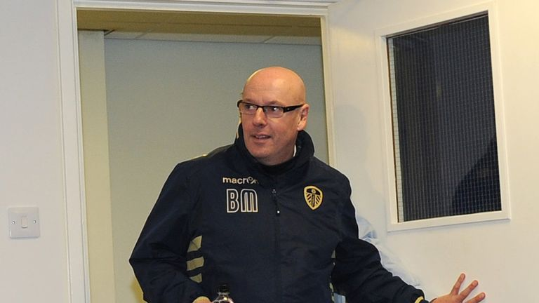 Brian McDermott: Leeds manager waiting to hear the outcome of an appeal concerning the club's propsective owner