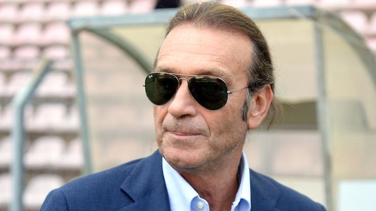 Massimo Cellino: Says he needs to be 100% confident about his coach