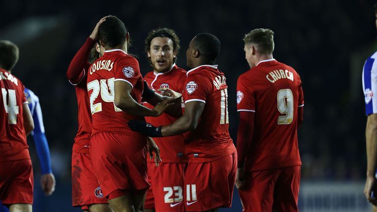 Charlton: Celebrate their opening goal