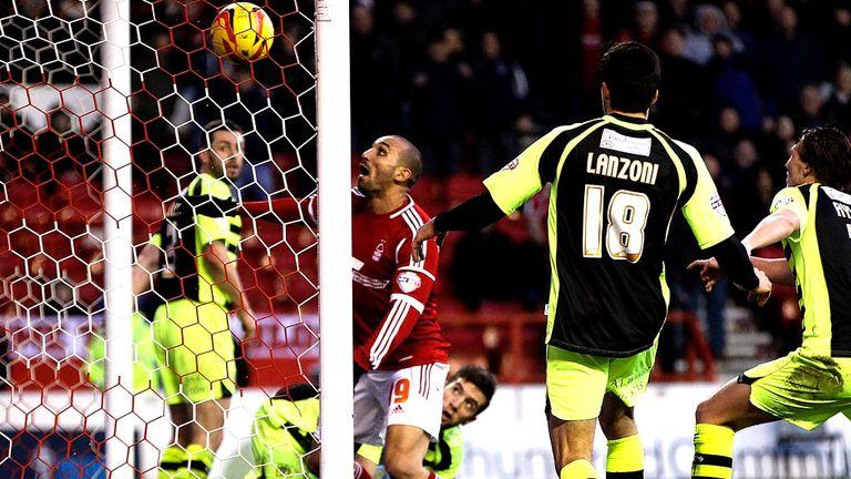 Rafik Djebbour: Scored on Forest debut