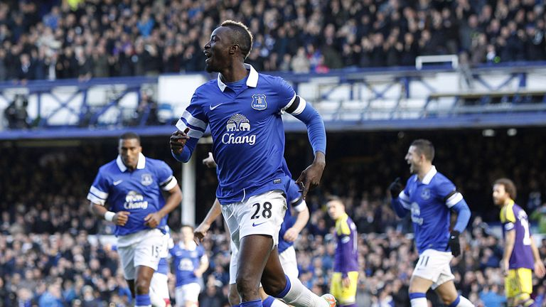 Lacina Traore: Targets a trip to Wembley in May with Everton