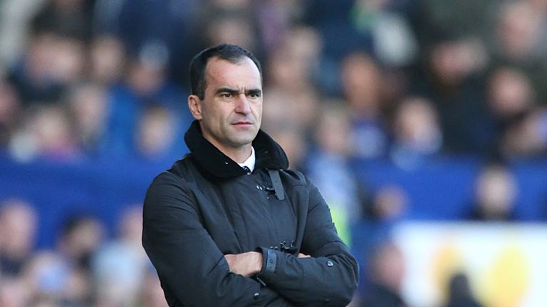 Roberto Martinez: Everton boss knows Arsenal FA Cup draw will be a test