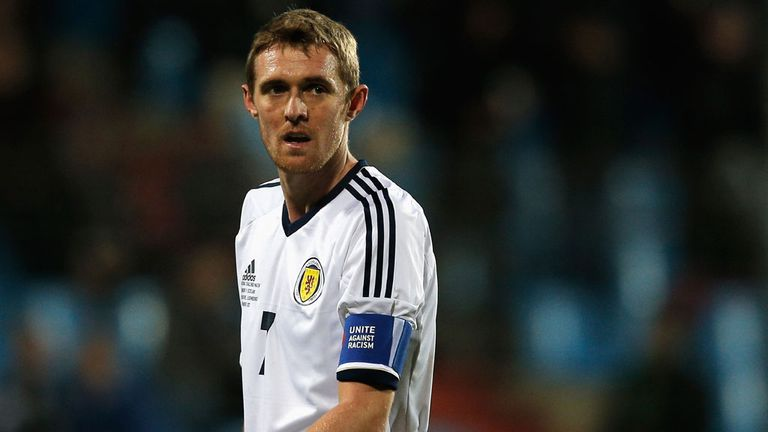Darren Fletcher: Return to the Scotland squad delights Barry Bannan
