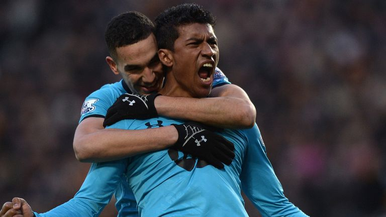 Paulinho: Full of praise for the Premier League after his first year