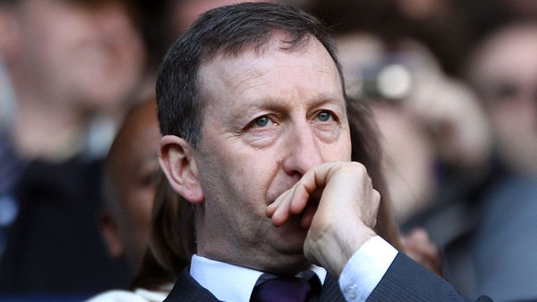 Jenkins: the Swansea chairman gave Michael Laudrup the chop this week