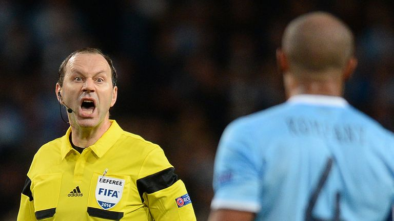 Jonas Eriksson: Will referee Manchester United against Bayern Munich