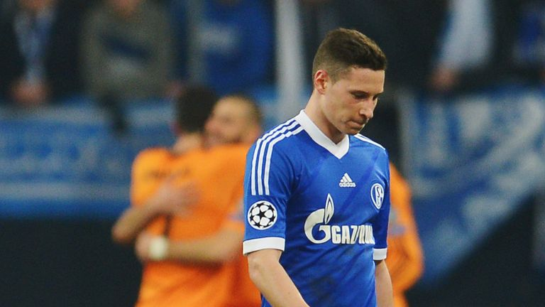 Julian Draxler: Disappointed after Schalke's Madrid thrashing