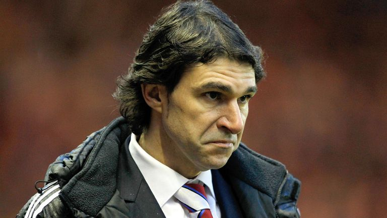 Aitor Karanka: Criticised his Boro side