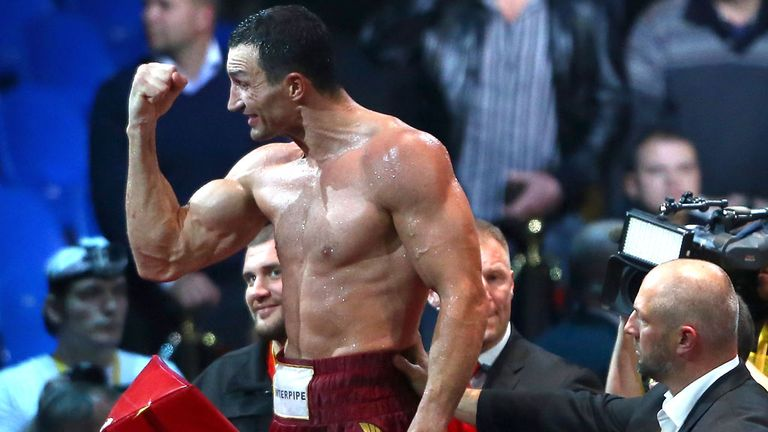 Wladimir Klitschko: Out to prove he is the world's best against Alex Leapai