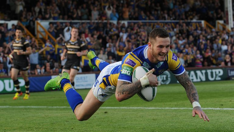 Zak Hardaker: Has started the new Super League campaign in superb form