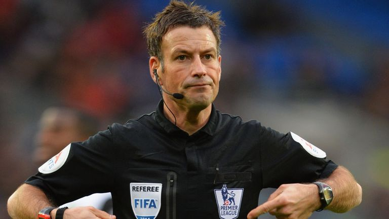 Mark Clattenburg: Takes charge at Upton Park this weekend