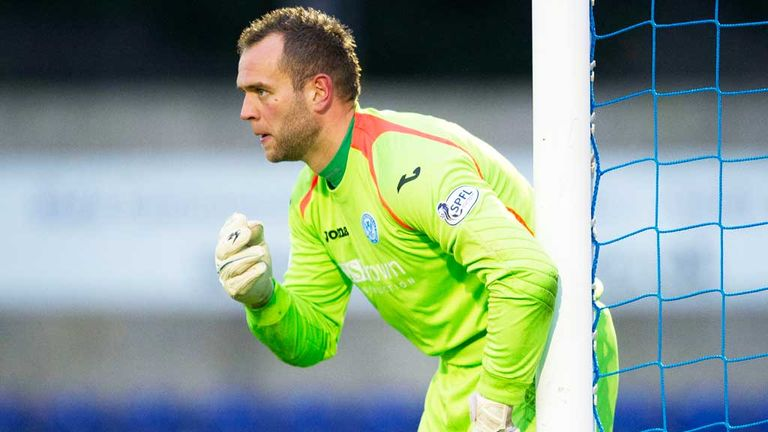 Alan Mannus: St Johnstone keeper has signed a new deal with the club