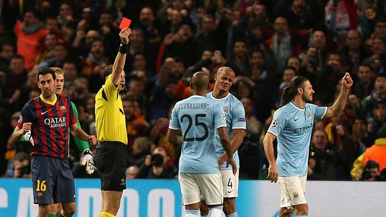 Martin Demichelis: Given his marching orders on Tuesday night