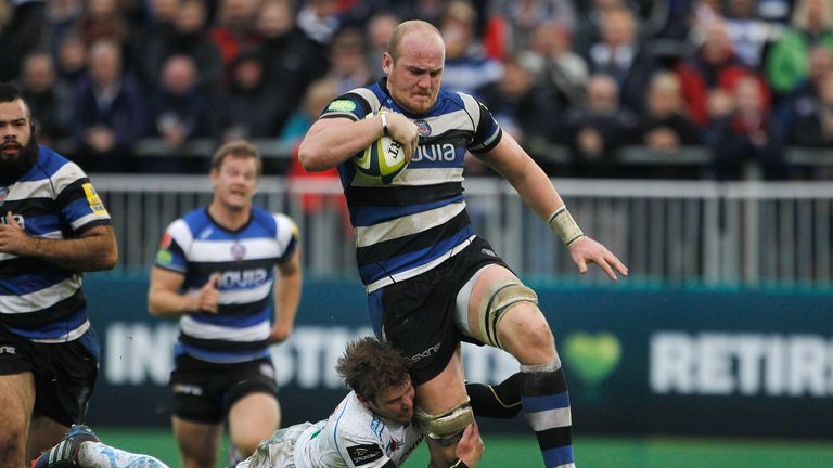 Bath's Matt Garvey is praised by head coach Mike Ford