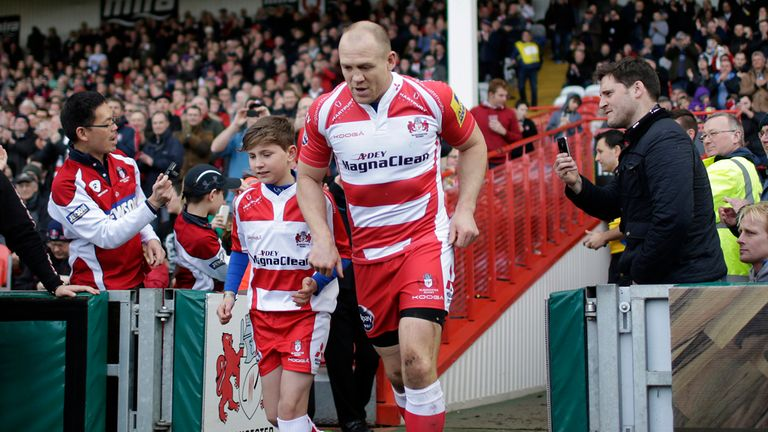 Mike Tindall: Announced retirement