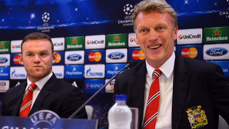 David Moyes: Expects Rooney and van Persie to inspire his side in Europe