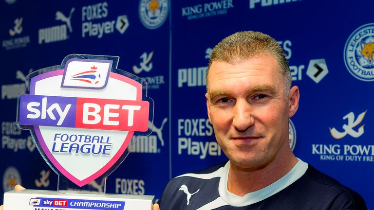 Nigel Pearson: Sky Bet Championship Manager of the Month for January