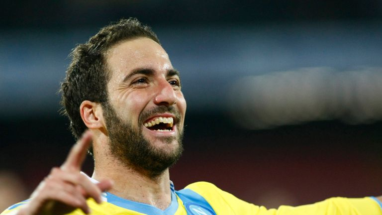 Gonzalo Higuain: Napoli striker a doubt for Swansea clash