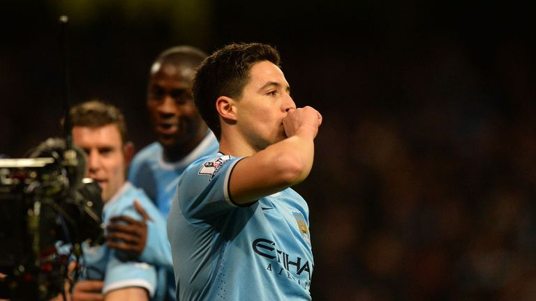 Samir Nasri: Came off the bench to seal FA Cup victory over Chelsea