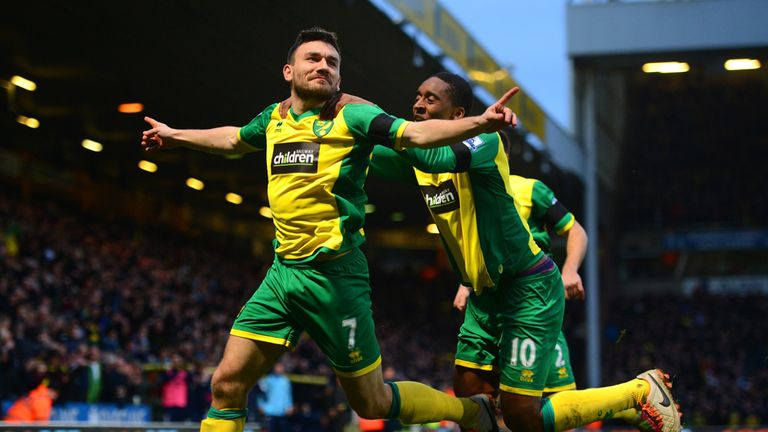 Robert Snodgrass: Celebrates his clinical strike
