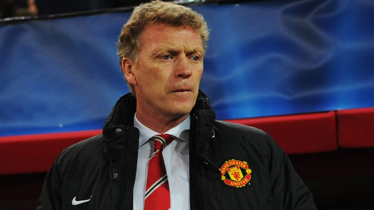 David Moyes: Manchester United boss endured a difficult night on Greek soil