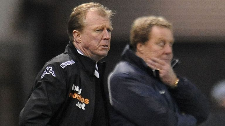 Steve McClaren: Watches his Derby side defeat promotion rivals QPR