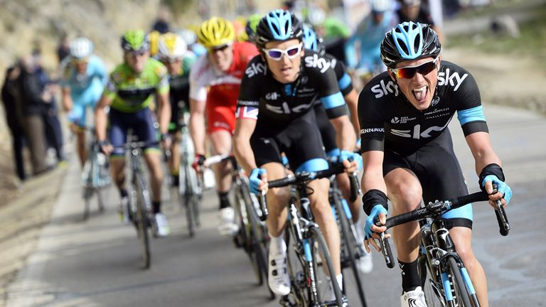 Team Sky have enjoyed plenty of success with KASK