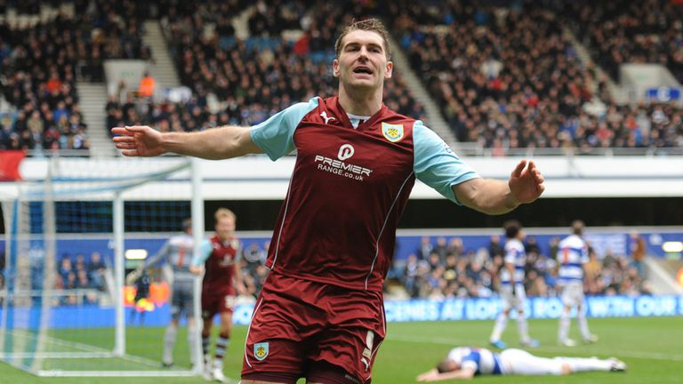 Sam Vokes: Huge goal for Burnley