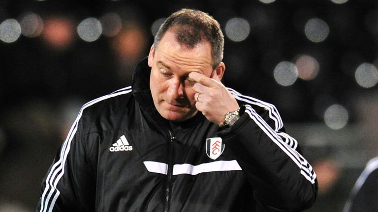 Rene Meulensteen: Fulham boss was left to rue a miserable defeat to Sheffield United