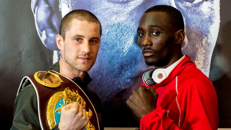 Burns and Crawford: it is going to be tight but Jim Watt fears the worst