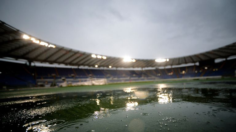 Stadio Olimpico: Roma v Parma now set for new date
