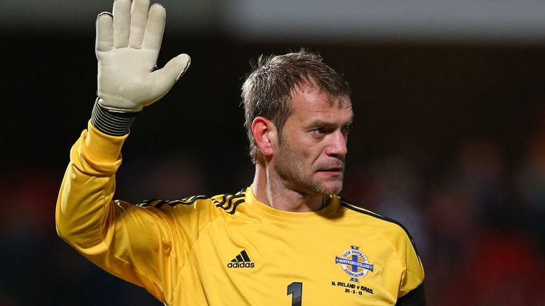 Roy Carroll: Blast for Manchester United