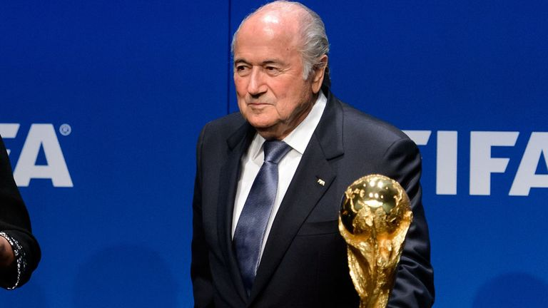 Sepp Blatter says FIFA are confident the World Cup will be a success