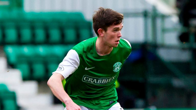 Sam Stanton: Hibs youngster to miss Scotland Under-21 game