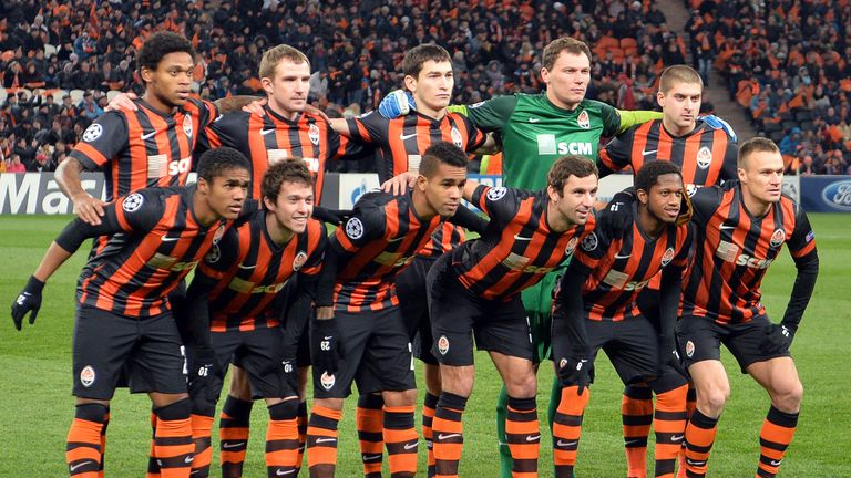 Shakhtar Donetsk: will play home games 600 miles away in Lviv