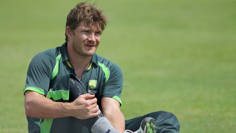 Shane Watson: Bowled in the nets at Port Elizabeth