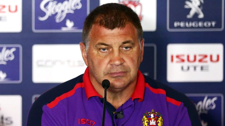 Shaun Wane: Happy with cup triumph