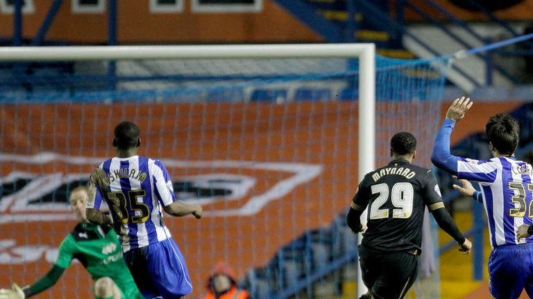 Nicky Maynard: Scores for Wigan