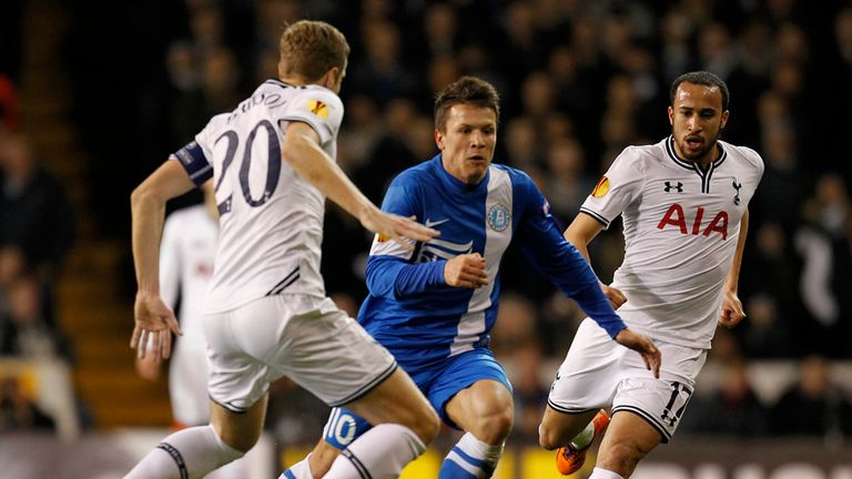 Yevhen Konoplyanka: Scored against Tottenham last month