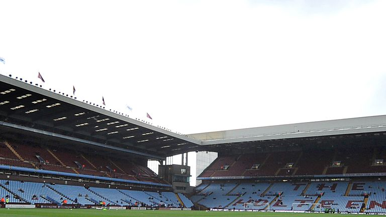 Villa Park: Young midfielder Anes Omerovic has signed for Aston Villa