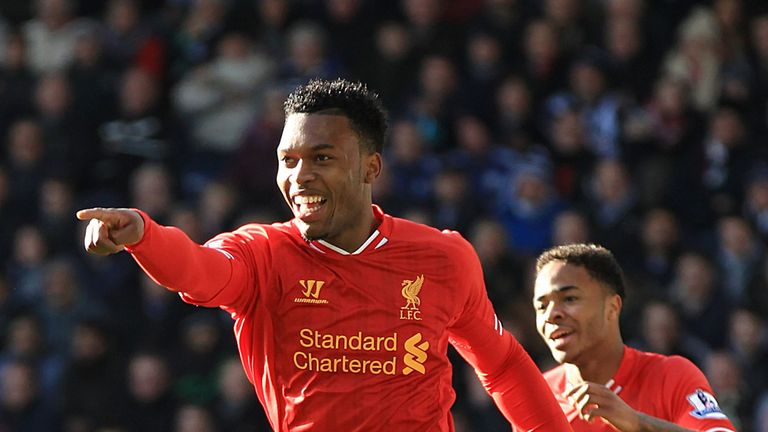 Daniel Sturridge: Central switch has proved pivotal