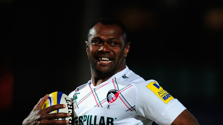 Vereniki Goneva: scored a try in the win over Exeter