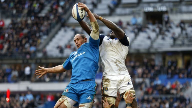 Sergio Parisse: Thigh injury kept him out in Ireland