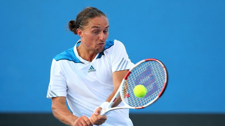 Alexandr Dolgopolov: Ukrainian went down in three sets against Daniel Gimeno-Trever
