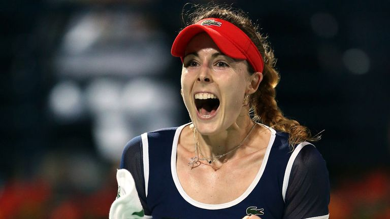 Alize Cornet: Will face Camila Giorgi in final of BNP Paribas Katowice Open